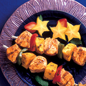 Honey Lime Alaska Seafood Kabobs