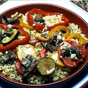 Couscous with Roasted Vegetables
