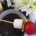 Chocolate Avocado Fondue